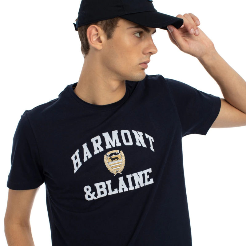 tshirt patch stampa harmont blaine
